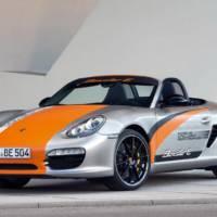 Porsche Boxster E Performance Figures and Specs