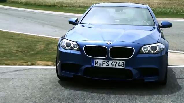 2012 BMW M5 Video