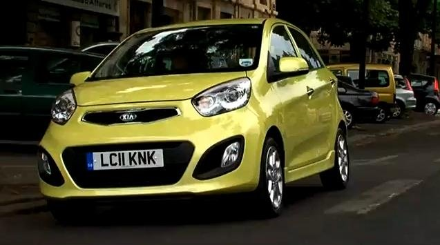 2012 Kia Picanto Review Video