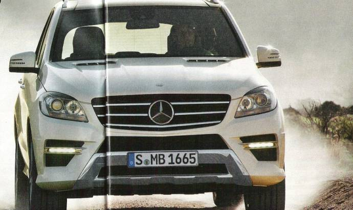 2012 Mercedes ML Photos
