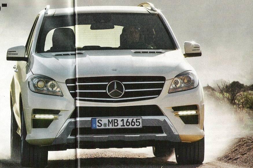 2012 Mercedes ML Photos