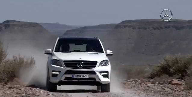 2012 Mercedes ML Video