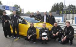 Megane RS 265 Trophy sets FWD Nurburgring Record