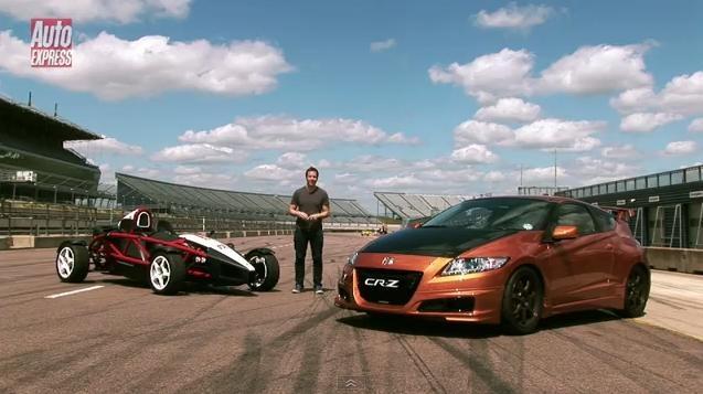 Video: Honda CRZ Mugen vs Ariel Atom Mugen