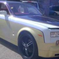 Video: Rolls Royce Phantom gets rainbow exterior and interior