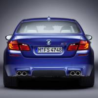 2012 BMW M5 Official Photos and Specs