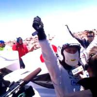Monster Tajima sets new record at Pikes Peak