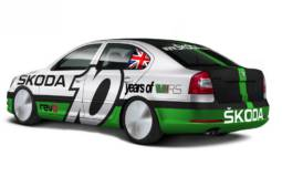 Skoda Octavia vRS Bonneville with 600HP