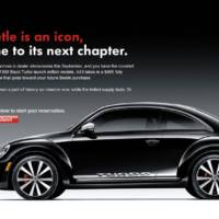 VW Beetle Black Turbo Launch Edition