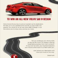 Volvo UK Offering an S60 R Design Through Facebook Giveaway.