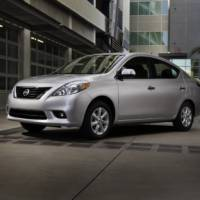 2012 Nissan Versa Price for US