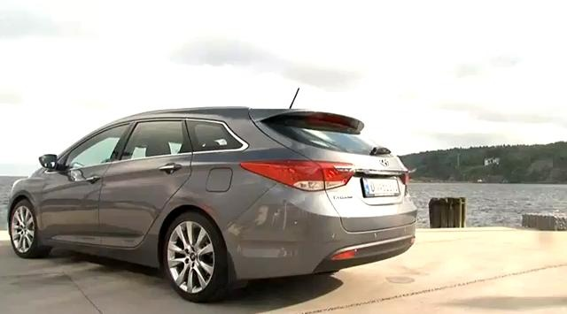 Hyundai i40 Tourer Review Video