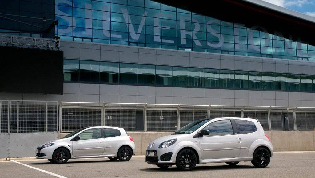 Renault Clio RS 200 and Twingo RS 133 Silverstone GP edition