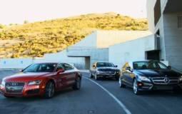 Video: Audi A7 vs Mercedes CLS vs Jaguar XJ