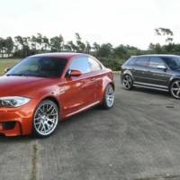 Video: BMW 1 Series M Coupe vs Audi RS3 Sportback