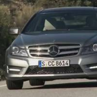 2012 Mercedes C Class Coupe Review Video