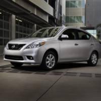 2012 Nissan Versa Price for US