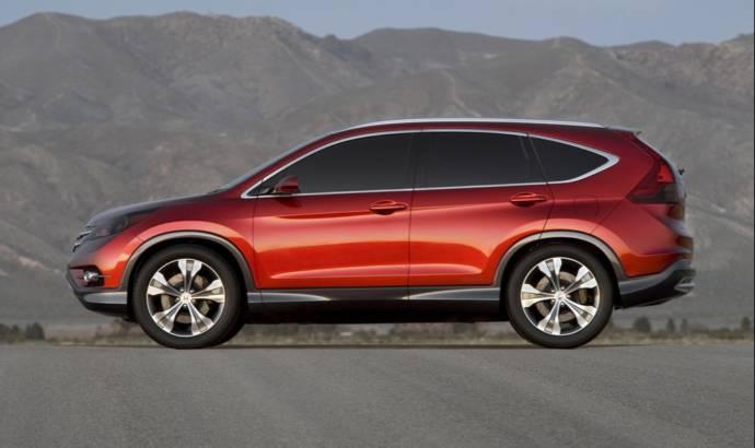 2012 Honda CR-V Concept Photos and Video