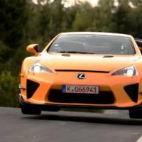 Lexus LFA Nurburgring Package Nurburgring Lap Time