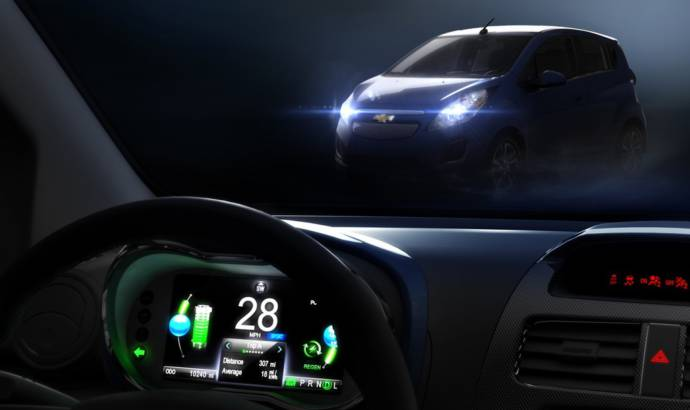 Chevrolet Spark Electric Announced