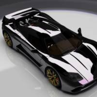 Genty Akylone 1000 HP French Supercar