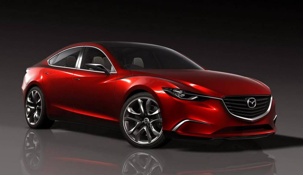 Mazda TAKERI Concept Previews next gen Mazda6