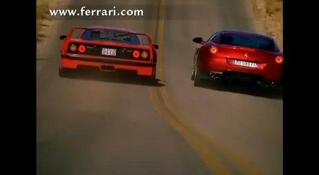 New vs Old: Ferrari 599 GTB Fiorano vs F40