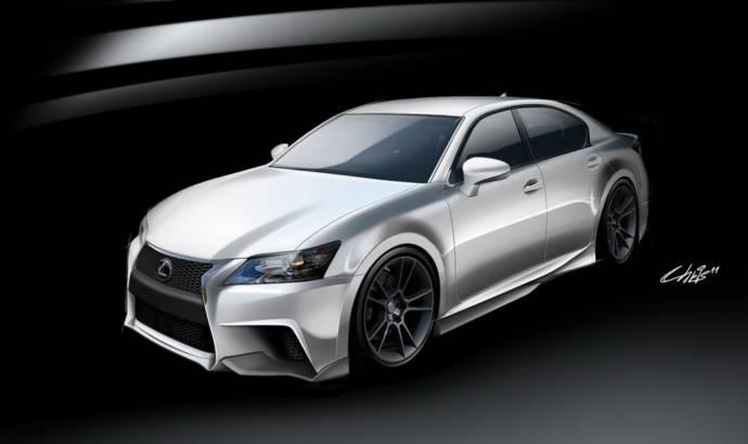2013 Lexus GS F SPORT by Five Axis