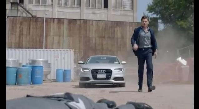 2012 Audi A6 in Untitled Jersey City Project Trailer