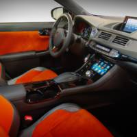 Five Axis Lexus CT 200h at SEMA 2011