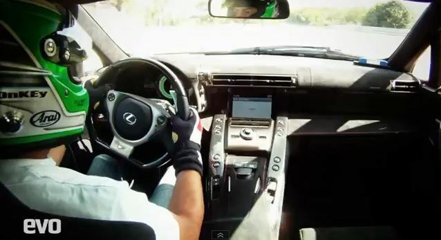 Test Drive: Lexus LFA Nurburgring