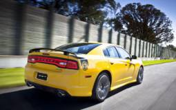 2012 Dodge Charger SRT8 Super Bee at 2011 LA Auto Show
