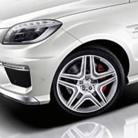 2012 Mercedes ML63 AMG Revealed