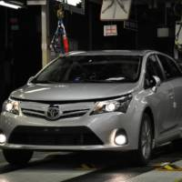 2012 Toyota Avensis Price for UK