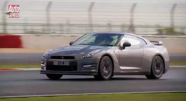 2013 Nissan GT-R Driven at Silverstone