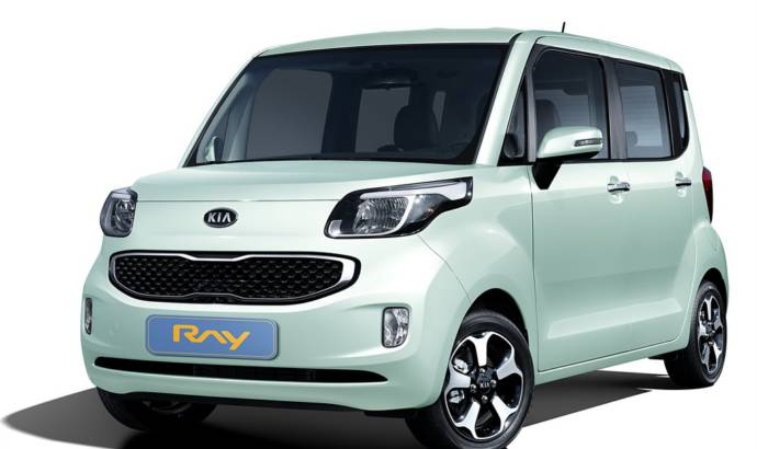 Kia Ray Compact for Korean Market
