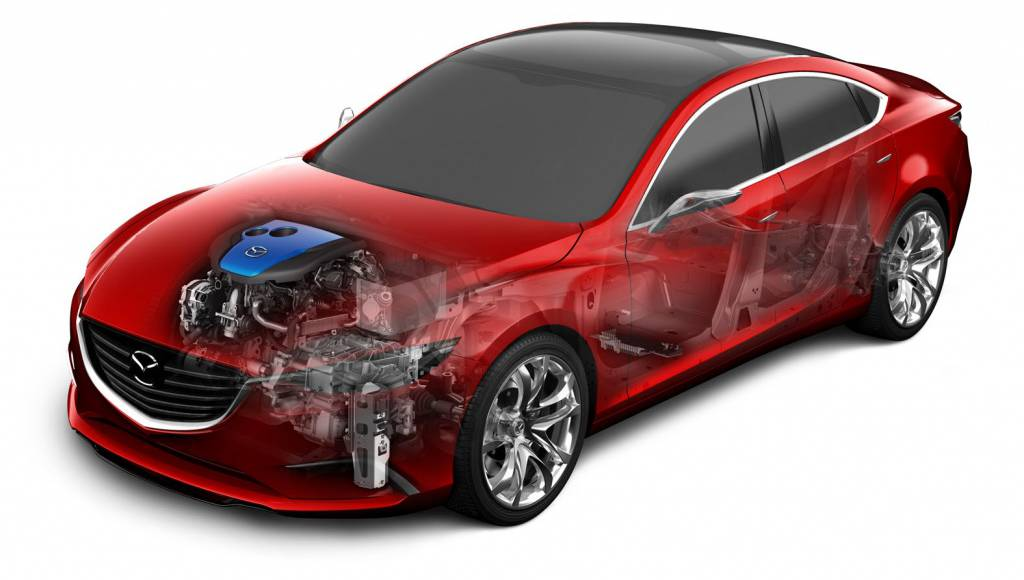 Mazda i-ELOOP Capacitor Based Regenerative Braking System