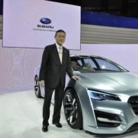 Subaru Advanced Tourer Concept: Tokyo 2011