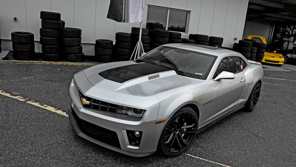 Video: Chevrolet Camaro ZL1 Designed for Downforce