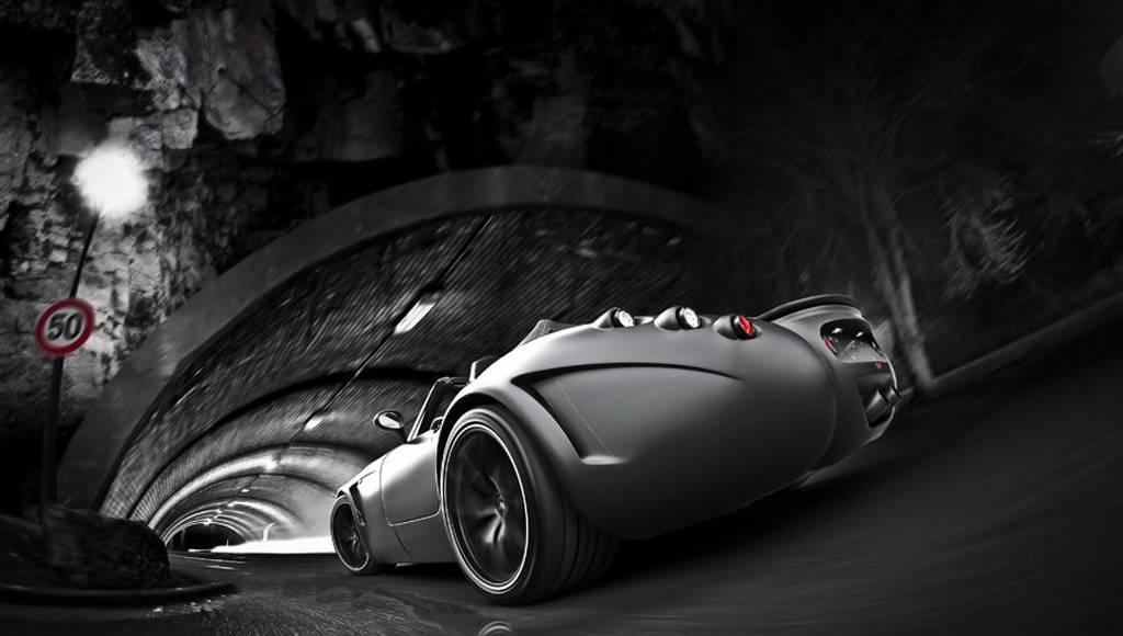 Wiesmann MF5 V10 Black Bat