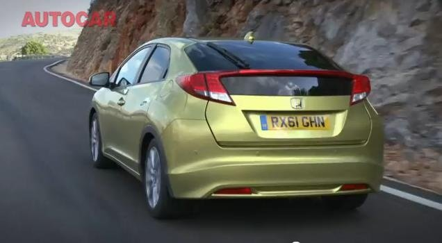 Review Video: 2012 Honda Civic Euro Spec