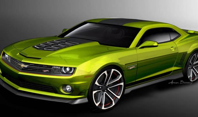 SEMA 2011: Chevrolet Camaro Hot Wheels Concept