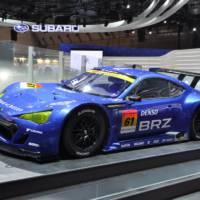 Subaru BRZ GT300 unveiled in Tokyo