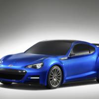 Subaru BRZ STI Unveiled in LA