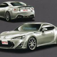Toyota FT-86 TRD Leaked