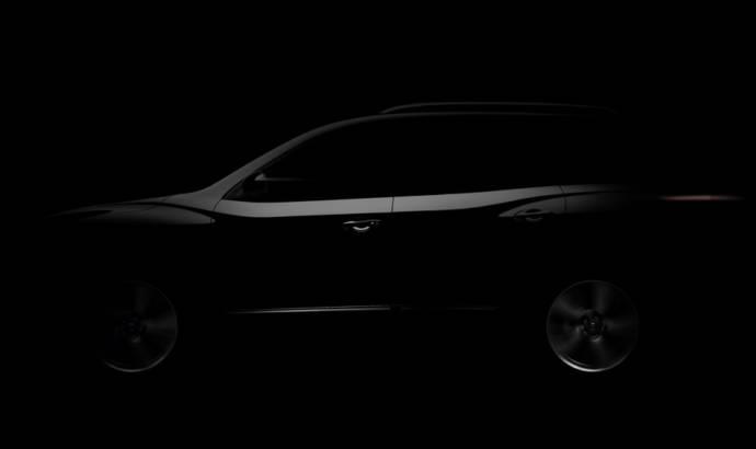 2012 Nissan Pathfinder Teased