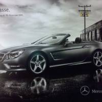 2013 Mercedes SL Leaked