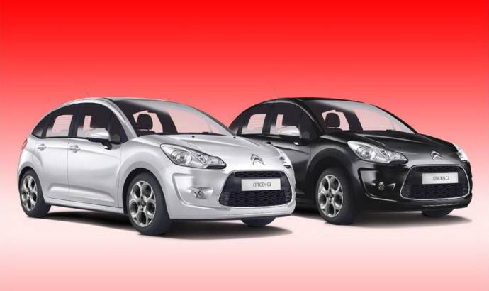 Citroen C3 Black and White Editions