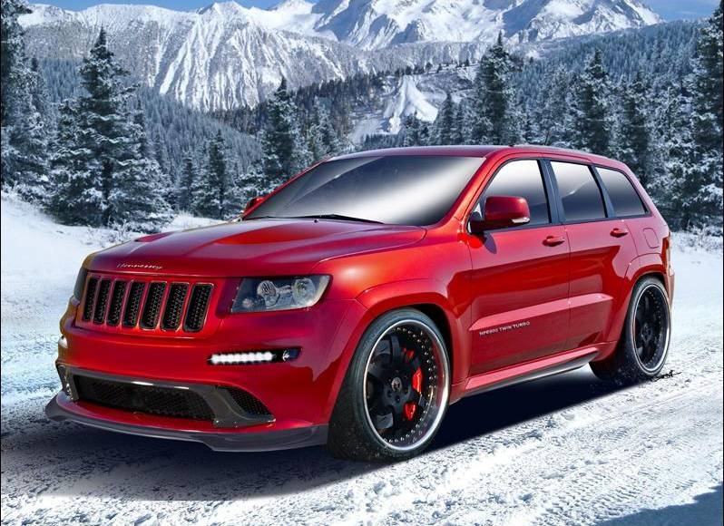 Jeep Grand Cherokee SRT8 HPE800 by Hennessey Performance