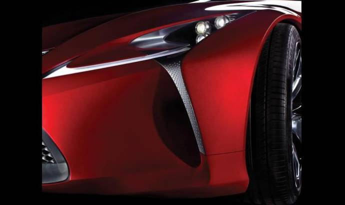 Lexus Teases New Concept Ahead of 2012 NAIAS Debut